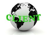 CLIENT abstraction inscription around earth
