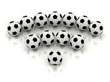 RSS sign of soccer balls
