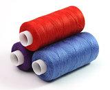 Three coils of threads