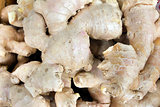Ginger Root Closeup Background