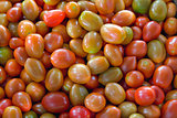 Small Cherry Tomatoes Background