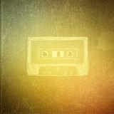 vintage paper texture, art music background