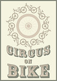 Circus on bike