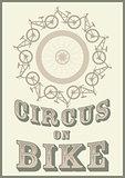 Circus on bike
