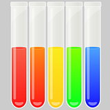 Test tube set.