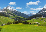 Alpine view (Vorarlberg,Austria)