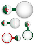 Vector - Algeria Country Set of Banners