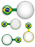 Vector - Brazil Country Set of Banners