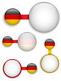 Vector - Germany Country Set of Banners