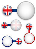 Vector - UK Country Set of Banners