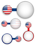 Vector - USA Country Set of Banners