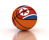 North Korean Basketball Team