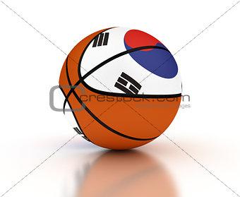 South Korean Basketball Team