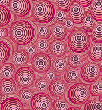 3d pink curly worm shape backdrop