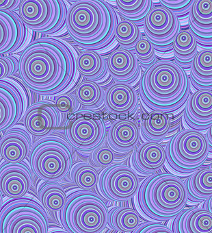 3d purple curly worm shape backdrop