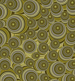 3d yellow brown curly worm shape backdrop