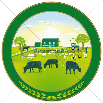 Green Agriculture badge