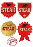 Steak Label