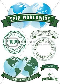 Guarantee and shipping