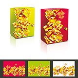 vector music cd cover &amp; box design template. 