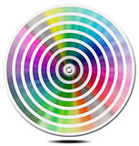 Pantone Color Palette - blur circle