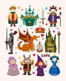seamless Fairy tale pattern