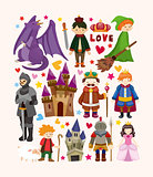 seamless Fairy tale pattern