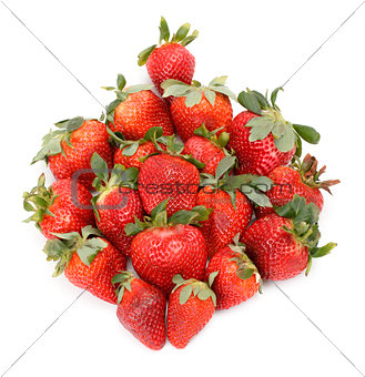 Fresh Strawberries closeup