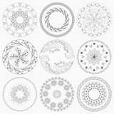Nine Circular Patterns