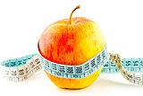 Diet apple food