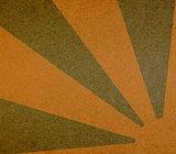 Vintage abstract sun rays