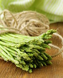 fresh green asparagus - spring vegetable