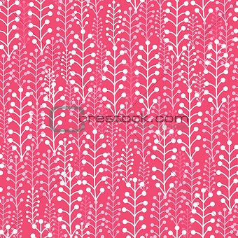 Abstract Silhouettes Seamless Pattern Background