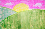 Sunny Hill Painting