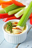 Vegetables and dip.