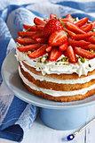 Srrawberry cake.
