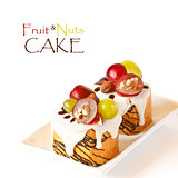 Fruit&amp;Nuts Cake.