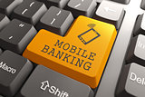 Mobile Banking Button.