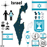 Israel map