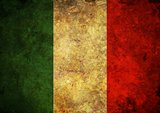 Grunge Italy Flag