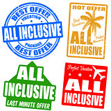 All inclusive stamps