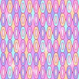 Seamless Geometric Pastel Pattern