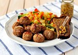 Pork Meatballs with Vegetables