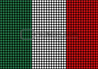 Abstract Italy Flag