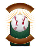 Baseball Design Template Burst