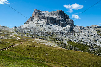 Mountain Averau, Dolomites