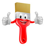 Thumbs up paintbrush