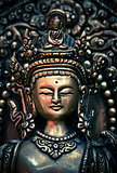 Face of Buddha statue