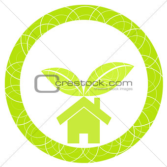 Home green illustration