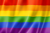 Rainbow gay pride flag